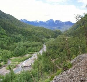 Alaska gold panning