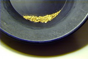 placer gold panning