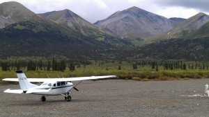 gold prospecting plane